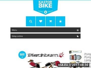 Zrzut strony Sprzedaż rowerów Kastor-Bike