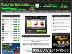 Miniaturka www.kasynoranking.com (Recenzje darmowych gier internetowych)