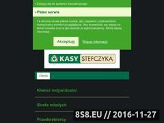 Miniaturka domeny www.kasystefczyka.pl