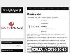 Miniaturka domeny katalog-blogow.pl