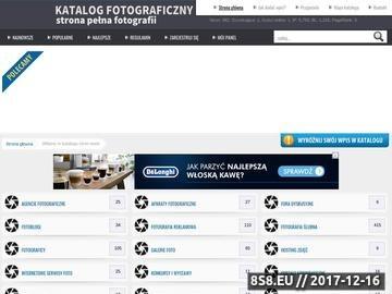 Zrzut strony Katalog stron foto