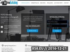 Miniaturka domeny www.katalog.foto-gajek.pl