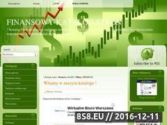 Miniaturka domeny katalog.gazetafinansowa.info.pl
