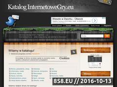 Miniaturka domeny www.katalog.internetowegry.eu