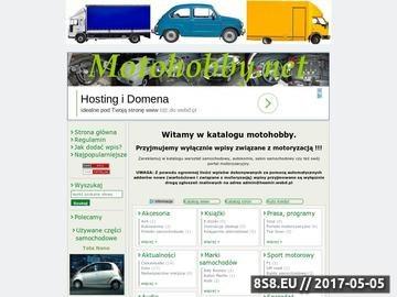 Zrzut strony Katalog stron motoryzacyjnych Motohobby
