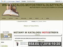 Miniaturka domeny katalog.motostrefa.olsztyn.pl