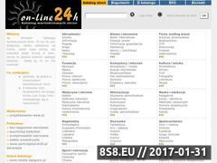 Miniaturka domeny www.katalog.on-line24h.pl