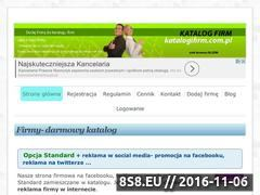 Miniaturka katalogifirm.com.pl (Wpisy reklamowane w social media: face i Twitter)