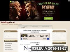 Miniaturka domeny katalogmonet.za.pl