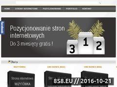 Miniaturka domeny www.katalogstron.deniko.pl