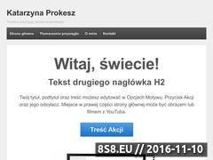 Miniaturka domeny www.katarzyna-prokesz.pl