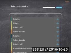 Miniaturka domeny katarzynaksiazek.pl