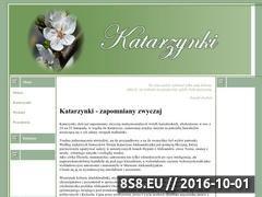 Miniaturka domeny www.katarzynki.swieta.biz