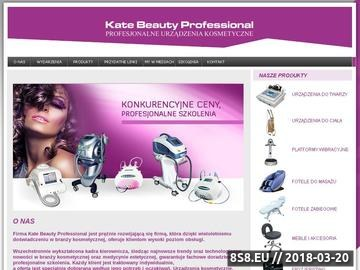 Zrzut strony Meble i urządzenia kosmetyczne - Kate Beauty