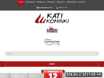 Zrzut strony Kominki Warszawa