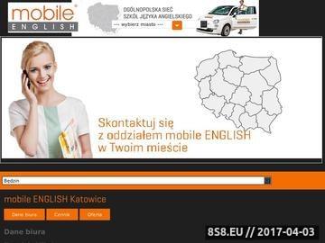 Zrzut strony Szkoły językowe Katowice