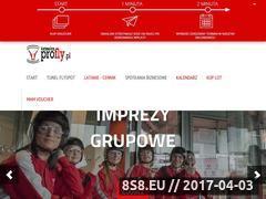 Miniaturka katowice.profly.pl (Profly - tunel aerodynamiczny Katowice)