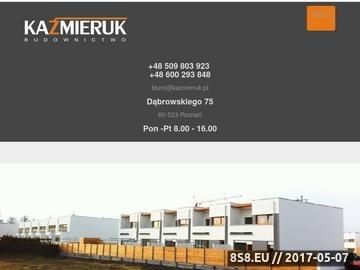 Zrzut strony Budowa domów Poznań