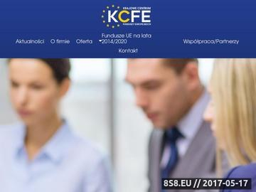 Zrzut strony Kompleksowe doradztwo w pozyskiwaniu funduszy
