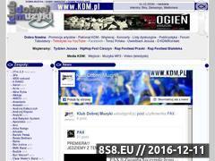 Miniaturka domeny www.kdm.pl