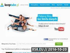 Miniaturka domeny keeptube.pl