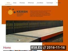 Miniaturka domeny www.kersh-wagi.com.pl
