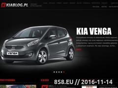 Miniaturka www.kiablog.pl (Aktualności ze świata marki Kia)