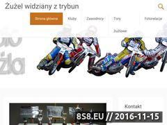 Miniaturka www.kibic-zuzla.pl (Opowieść o żużlu od strony kibica napisana)