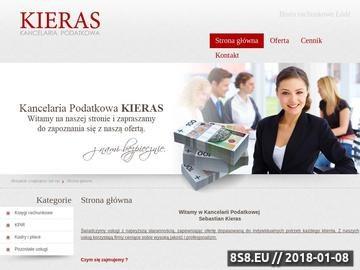 Zrzut strony Księgowa Łódź