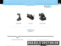 Miniaturka www.kim-tech.pl (Sprzedaż online czytników kodów kreskowych)