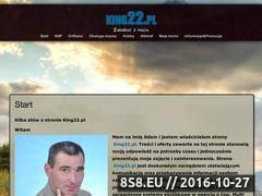 Miniaturka domeny king22.pl