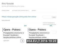 Miniaturka domeny kinoyoutube.pl