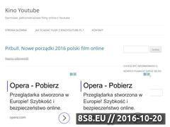 Miniaturka kinoyoutube.pl (Darmowe, pełnometrażowe filmy online z Youtube)
