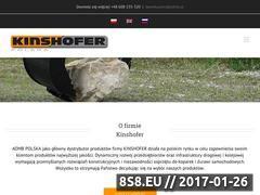 Miniaturka domeny kinshofer.com.pl