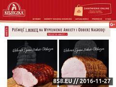 Miniaturka domeny kiszeczka.pl