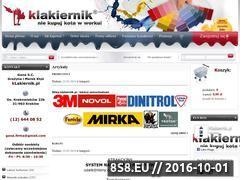 Miniaturka domeny www.klakiernik.pl