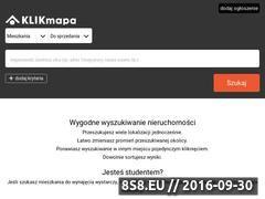 Miniaturka domeny www.klikmapa.pl