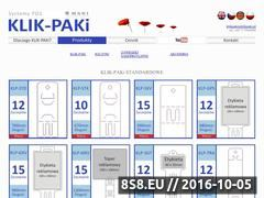 Miniaturka domeny www.klikpaki.pl