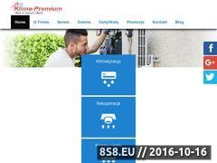 Miniaturka domeny www.klima-premium.pl