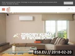 Miniaturka klimakrakow.pl (Klimatyzacja Kraków - montaż)