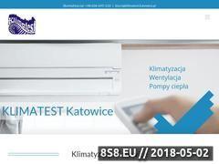 Miniaturka klimatest.com.pl (Klimatyzacja)