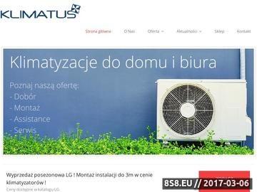 Zrzut strony Klimatyzacja - instalacja, serwis, montaż do domu i biura