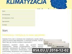 Miniaturka domeny klimatyzacja.malopolska.pl