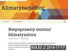 Miniaturka domeny www.klimatyzacjablog.pl