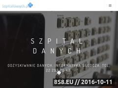 Miniaturka Odzyskiwanie danych Warszawa (klinikadanych.pl)
