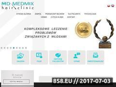 Miniaturka klinikamedmix.pl (Przeszczep włosów oraz trycholog)