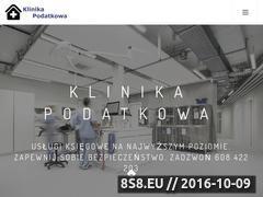 Miniaturka domeny klinikapodatkowa.pl