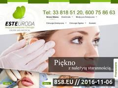 Miniaturka domeny www.klinikaurody.org.pl