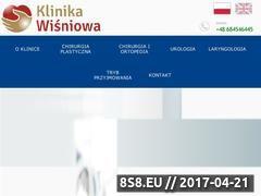 Miniaturka klinikawisniowa.pl (Eswl u dzieci)