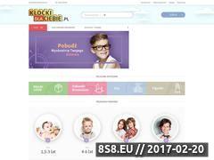 Miniaturka domeny www.klockidlaciebie.pl